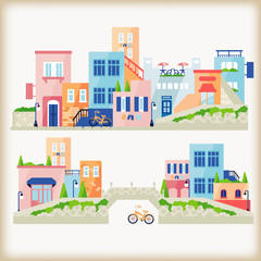 vector of town