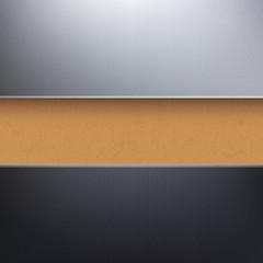 Vector cardboard paper textured background