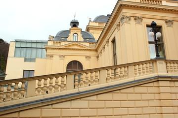 Ansicht von Kurhaus und Kasino in Baden bei Wien