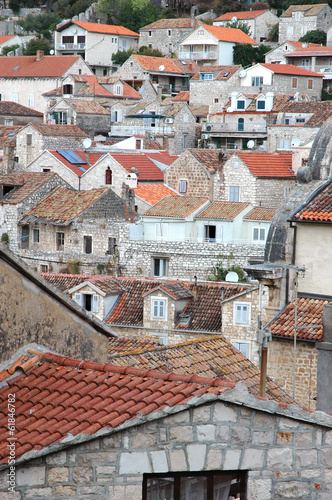 Old town Hvar in Croatia