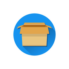 Vector Carton Box Icon