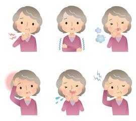 高齢女性/体調不良 セット