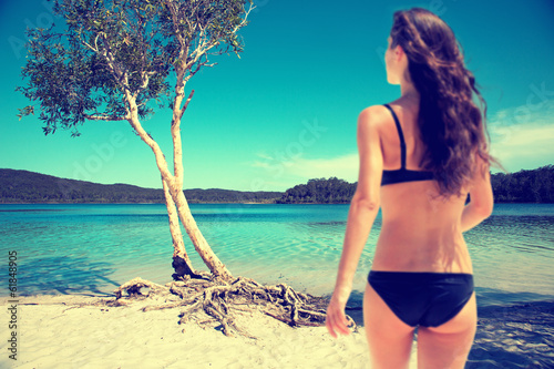 canvas print picture Dreamy Beach