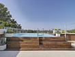 moderna piscina in terrazza