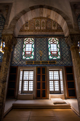 Interior of Library of Sultan Ahmed