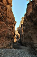 Sesriem Canyon near Sossusvlei. Namibia