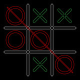 The Noughts and Crosses game