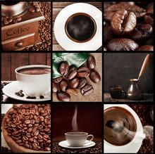 Kaffee Konzept Collage