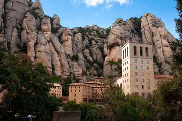 Barcelona, Spain, Monastery of Montserrat
