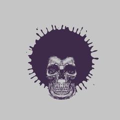 Skull. Vector format
