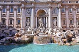 Rome, Italy - Trevi Fountain