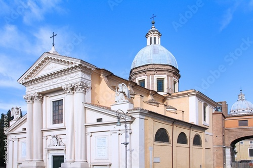 Rome, Italy - Saint Rocco church