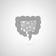Intestines symbol