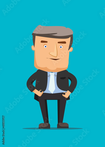Talk show  isolated blue screen vector illustration