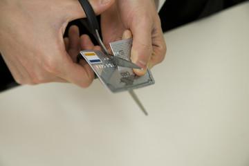 cutting off credit card