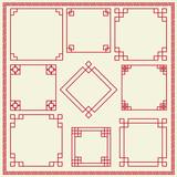 Fototapety Chinese decorative frame