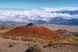 Volcanic landscape from Mauna Kea