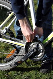 Kette an mountain bike reparieren