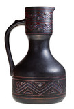 georgian ceramic pottery pitcher