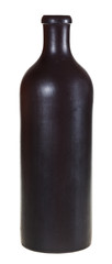 side view of georgian ceramic pottery bottle