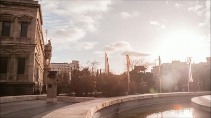 Timelapse - Fuente Plaza Colón - Madrid