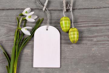 Grußkarte Ostern ©yvonneweis