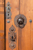 Door knocker and Lock
