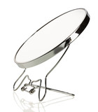 vanity mirror on a white background