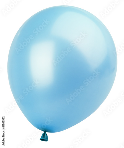 canvas print picture Blue balloon