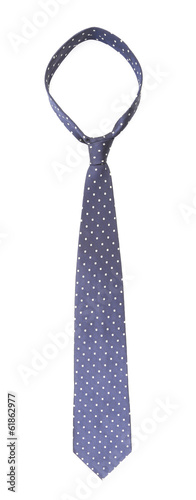 Specks necktie. Vertically.