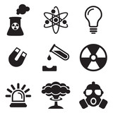 Nuclear Power Plant Icons