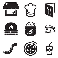 Pizzeria Icons