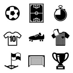 Footbal or Soccer Icons