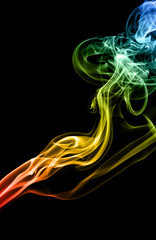 Mistery beautiful smoke