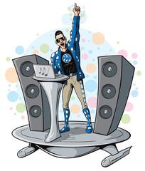 DJ superhero