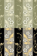 Seamless flower wall paper pattern
