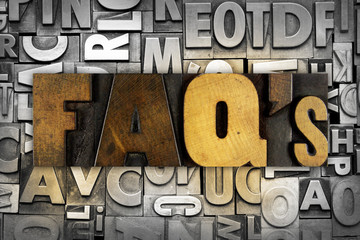 FAQ's Frequently Asked Questions