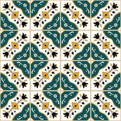 Seamless tunisian style pattern