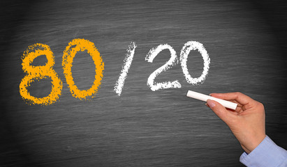 80 / 20 Rule - Marketing Concept