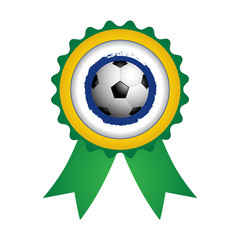badge with a special soccer ball design, vector,EPS10