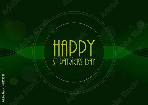 special St.Patrick's day background,vector design, EPS10