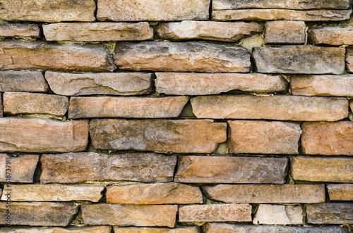 Leinwandbild Motiv Stone tiles