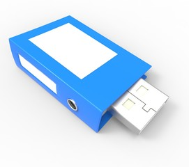 Usb Pen Drive Memory  Binders