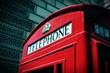 roleta: London telephone. Cross processed color tone.