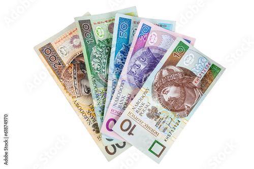 Set of polish banknotes - 61874970
