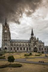 chiesa barocca di quito
