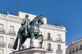 Statue of Carlos III in Madrid, Spain.