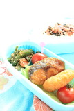 Japanese homemade packed lunch bento