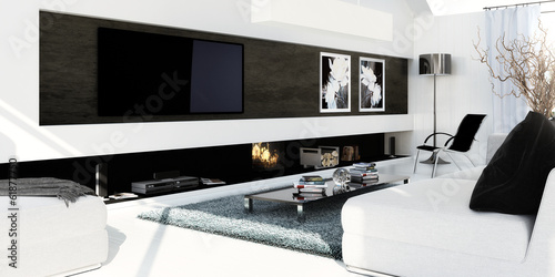 canvas print picture Luxury Flat