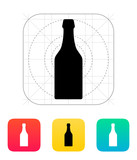 Beer bottle icon.
